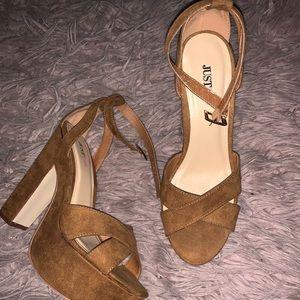 """JustFab """"Marlea"""" block heel"""